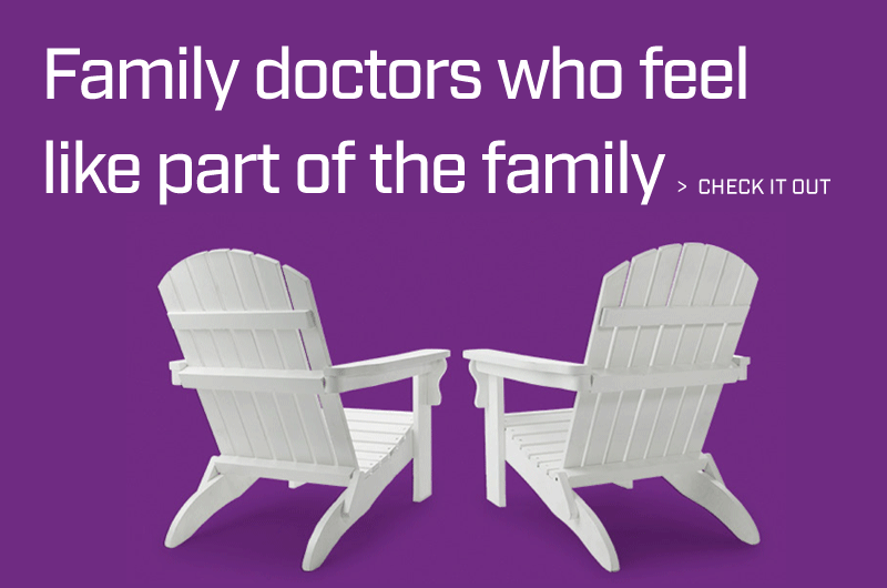 Family doctors who feel like part of the family