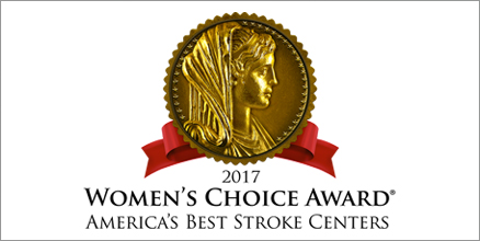 2017 Women's Choice Award as one of America's Best Stroke Centers